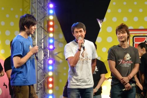 吉田栄作さんは、ファントムの父親役!栄ちゃんはやっぱり白いTシャツにデニムが定番!