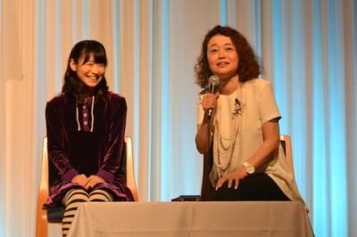 クロエ役・唯月ふうかさんと演出・鈴木裕美さん