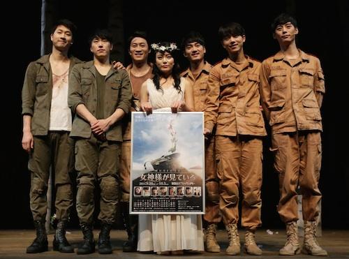 左より、アン・ジェヨン、チュ・ヒョンギョン、ジン・ソンギュ、ソン・ミヨン、ユン・ソクヒョン、チョン・ソンウ、チュ・ミンジン