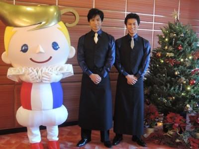 東京公演の間、明治座喫茶室では三上真史さんと滝口幸広さんがプロデュースした「Meet CAFE」が開催。