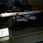 1月6日~31日までの間、展示されていた江戸時代の作刀「打刀 大和守安定」
