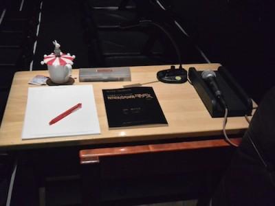 蜷川さんにまつわる大道具、小道具
